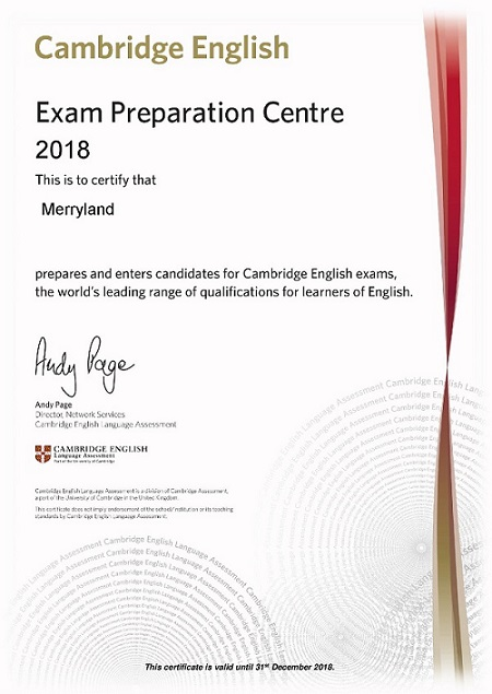 2018 Preparation Centre Certificate-page-001